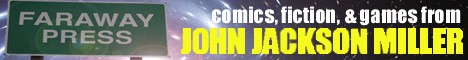 Find out more about comics and fiction from writer John Jackson Miller!